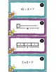 3.5B - Multiplication and Division Strip Diagrams and Equations - ENGLISH ONLY