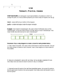 3.5B One and two-step word problems with diagrams and equations