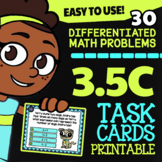 Math TEK 3.5C ★ Multiplication Expressions ★ 3rd Grade STAAR Math Task Cards