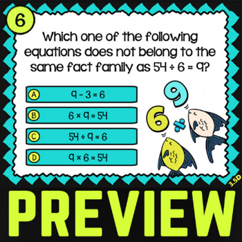 3.5D Math ★ MISSING FACTORS & PRODUCTS ★ Math TEK 3.5D ★ 3rd Grade STAAR Math
