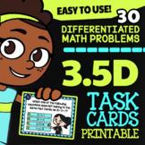 Math TEK 3.5D ★ Missing Factors & Products ★ 3rd Grade Task Cards