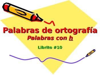 3-5th Grade Spanish Vocabulary - Week 10