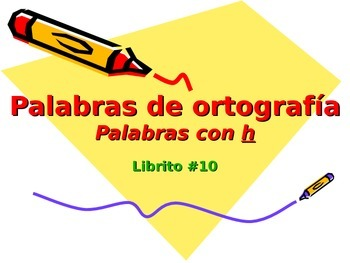 3-5th Grade Spanish Vocabulary - Week 10