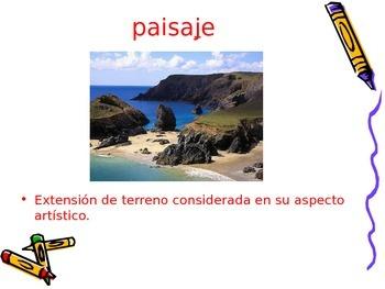 3-5th Grade Spanish Vocabulary - Week 3