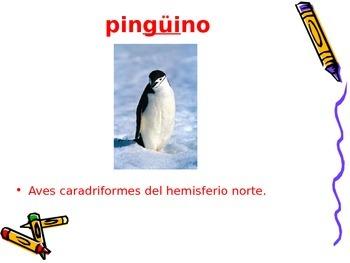 3-5th Grade Spanish Vocabulary - Week 5