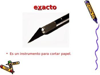 3-5th Grade Spanish Vocabulary - Week 8