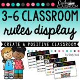 3-6 Classroom Rules