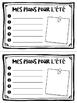 3-6 Memory Book - Petit livret des souvenirs