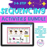 3-6 Picture Scene Sequencing Boom Cards™ Activity GROWING BUNDLE