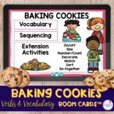 3-6 Step Sequencing for Baking Cookies Boom Cards™