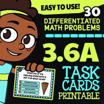 3.6A 2D and 3D Shapes ★ Math TEK 3.6A ★ 3rd Grade STAAR Math Word Problems