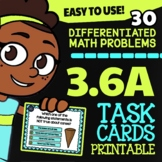 Math TEK 3.6A ★ 2D & 3D Shapes ★ 3rd Grade STAAR Math Practice Task Cards