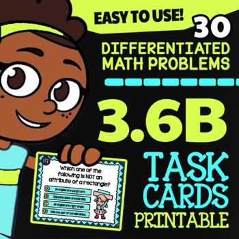 3.6B: Classifying Quadrilaterals ★ 3rd Grade STAAR Math Test Prep ★ TEKS Math