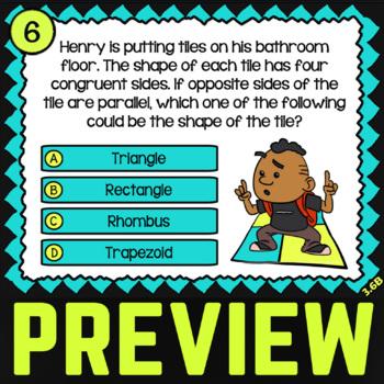 3.6B Math ★ CLASSIFYING QUADRILATERALS ★ Math TEK 3.6B ★ 3rd Grade STAAR Review