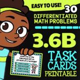 Math TEK 3.6B ★ Classifying Quadrilaterals ★ 3rd Grade STAAR Math Task Cards