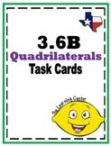 3.6B Quadrilaterals Task Cards - free sample
