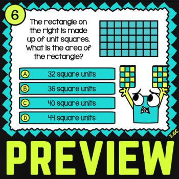 3.6C Area of Rectangles ★ Math TEK 3.6C ★ 3rd Grade STAAR Math Word Problems