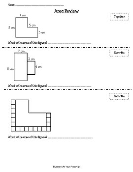 3.6C-D Area Review and Quiz