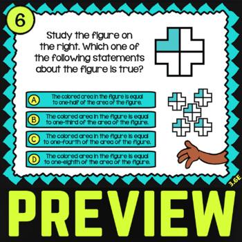 3.6E: Congruent Figures ★ TEKS 3rd Grade STAAR Math Practice ★ STAAR Test Prep