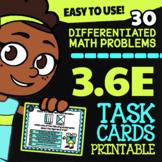 Math TEK 3.6E ★ Congruent Figures ★ 3rd Grade STAAR Math Test Prep Task Cards