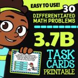 Math TEK 3.7B ★ Perimeter of Polygons Task Cards ★ 3rd Grade STAAR Math Review