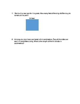 3.7B Perimeter with missing sides