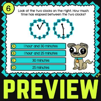 3.7C Math ★ ELAPSED TIME ★ Math TEK 3.7C ★ 3rd Grade STAAR Math Word Problems