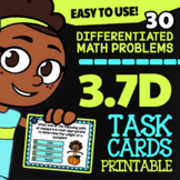 3.7D Math ★ Capacity & Weight ★ Math TEK 3.7D ★ 3rd Grade STAAR Math Task Cards