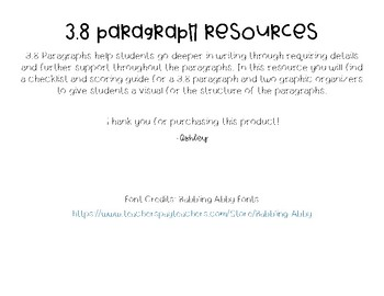 3.8 Paragraph Resources