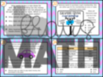 3.9D: Credit & Interest STAAR Test Prep Task Cards (GRADE 3)