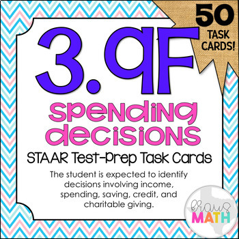 3.9F: Income, Spending, Savings, Credit & Charity STAAR Te