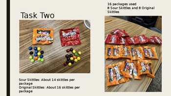 3 Act Task: Estimate the Skittles