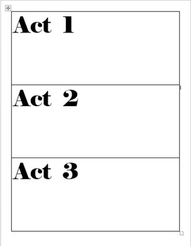 3 Act Task Lesson Model Poster