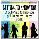 3 Activities To Help You Get To Know A New Class