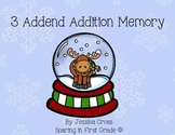 3 Addend Addition Memory