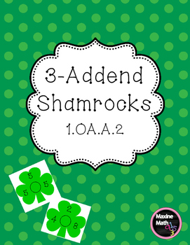 March 3-Addend Shamrocks 1.OA.A.2