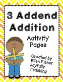 3 Addends Addition
