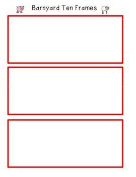 Addition Using Ten Frames 3 Addends