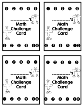 3 Addends Math Challenges for Early Finishers