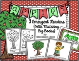 3 Apple Emergent Readers with Matching Big Books