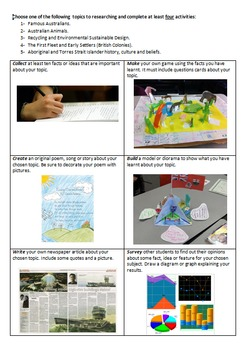 3 Australian SOSE worksheets (new curriculum)