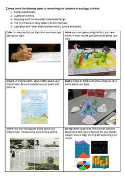 3 Australian SOSE worksheets (new curriculum)