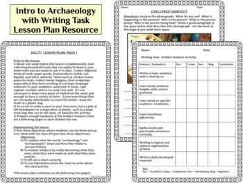 Prehistory Pretest, Archeology Activity, Digital Poster BUNDLE