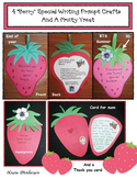 """4 """"Berry"""" Special Writing Prompt Craftivities Plus A Fruity Treat"""