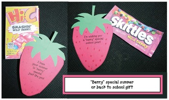 "4 ""Berry"" Special Writing Prompt Crafts Plus A Fruity Treat"