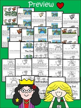 A+ 3 Billy Goats Gruff D-6 Guided Reading- Book, Lesson Plan,Assessments