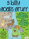 3 Billy Goats Gruff Integrated Literacy, Math, and Science Fairy Tale Activities