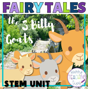 3 Billy Goats Gruff STEM Challenges