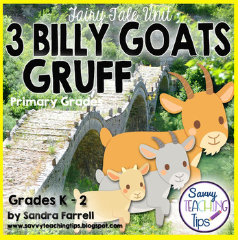 3 Billy Goats Gruff - a unit for beginning readers