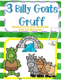 3 Billy Goats Gruff word cards for IKEA TOLSBY frames